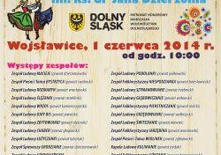 XIII DOlnosląski Przegląd Zespołów Folklorystycznych w Arboretum Wojsławice