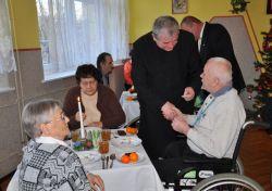 Wigilijny opłatek w Domu Pomocy Społecznej w Niemczy
